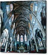 Catolic Church Canvas Print