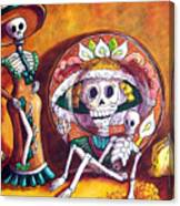 Catrina Still Life Canvas Print