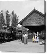 Catskill Railroad Canvas Print