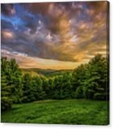 Catskill Sunset Canvas Print
