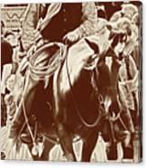 Cowboy Comtemplation Canvas Print
