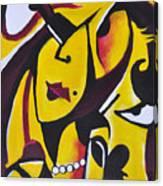 Catwalk, It Is Her Night Canvas Print