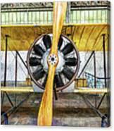 Caudron G3 Propeller - Vintage Canvas Print