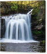 Cauldron Falls,west Burton, North Yorkshire. Canvas Print