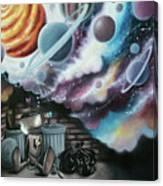 Caulis The Robot Canvas Print