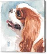 Cavalier Profile Canvas Print