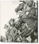 Cavalry Charge Canvas Print
