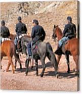 Cavalry Rides Canvas Print