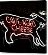 Cave Aged Cheese Canvas Print