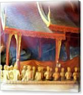 Cave Of The Bat Temple 2 Canvas Print