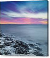 Cave Point Sunrise Canvas Print