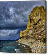 Cave Rock Color Canvas Print