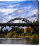 Caveman Bridge Canvas Print