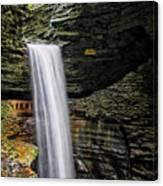 Cavern Cascade In Watkins Glen Canvas Print