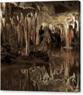 Cavern Reflections Canvas Print