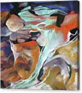 Cavernous Tumble Canvas Print