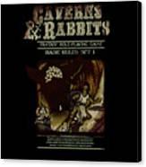 Caverns And Rabbits Canvas Print