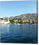 Cavtat, Croatia Canvas Print