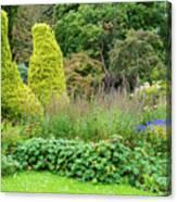 Cawdor Castle Garden Canvas Print