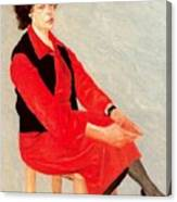 Cawpq3cp Avigdor Arikha Canvas Print