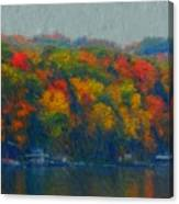 Cayuga Autumn Canvas Print