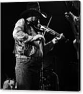 Cdb Winterland 12-13-75 #10 Crop 2 Canvas Print