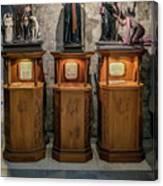 Cebu Statues Canvas Print