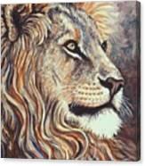 Cecil The Lion Canvas Print