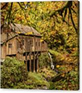 Cedar Creek Grist Mill Canvas Print
