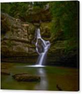 Cedar Falls 2 - Hocking Hills Ohio Waterfall Canvas Print