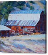 Cedar Hill Barn Canvas Print