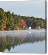 Cedar Lake Reflection Canvas Print