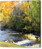 Cedarburg's Cedar Creek  Canvas Print