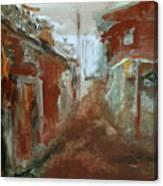 Ceder Town Canvas Print