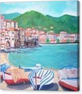 Cefalu In Sicily Canvas Print