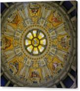 Ceiling Of The Berlin Cathedral Canvas Print
