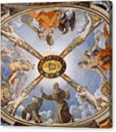 Ceiling Of The Chapel Of Eleonora Of Toledo Canvas Print