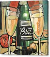 Celebrate With Bubbly Canvas Print