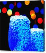 Celebrations With Blue Lagon Canvas Print