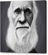 Celebrity Sunday - Charles Darwin Canvas Print