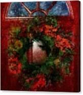 Celestial Christmas Canvas Print