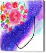 Celestial Her Canvas Print