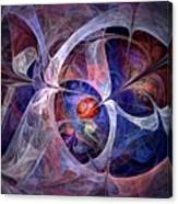 Celestial North - Fractal Art Canvas Print