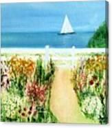 Celia Thaxter Canvas Print