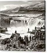 Celilo Falls Canvas Print