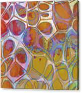 Cell Abstract 14 Canvas Print