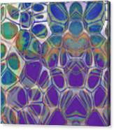 Cell Abstract 17 Canvas Print