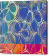Cell Abstract One Canvas Print