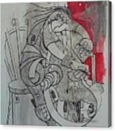Cellist 01 Canvas Print