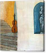 Cello No 2 Canvas Print